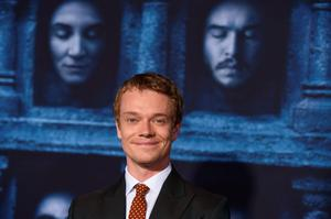 """Alfie Allen attends the season six premiere of  """"Game Of Thrones"""" at TCL Chinese Theatre on Sunday, April 10, 2016, in Los Angeles. (Photo by Jordan Strauss/Invision/AP)"""