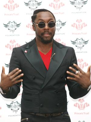 Generous causes: will.i.am has worked with the Prince's Trust to help disadvantaged children