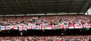 England supporters at Euro 2016.