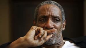 Thomas Jefferson Byrd appears during a portrait session in Atlanta (Marcus Yam/AP)