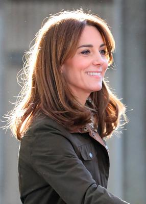 The Duchess of Cambridge during a visit to the Teagasc Animal & Grassland Research Centre at Grange, in County Meath, as part of her three day visit to the Republic of Ireland. PA Photo. Picture date: Wednesday March 4, 2020. See PA story ROYAL Cambridge. Photo credit should read: Aaron Chown/PA Wire