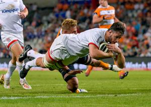 Clear aim: Sam Carter believes Ulster must cut out errors and execute their plan to become one of the best sides