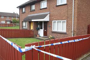 A man has been arrested after a woman was found dead at a house in Dill Avenue in Lurgan. Picture Matt Bohill/Pacemaker
