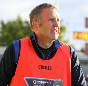 Maghery manager, Shane McConville