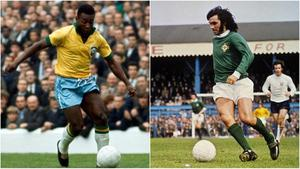 Pele and George Best are two of the greatest footballers of all time and they could have played on the same team.