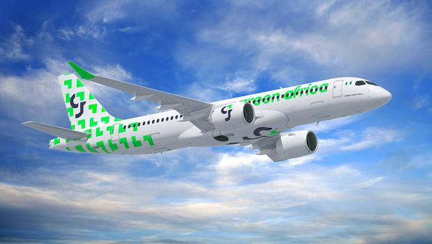 Green Africa Airways, Nigeria's Lagos-based airline has ordered 50 jets.
