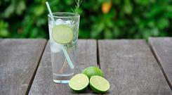 Trendy tipple: a gin cocktail