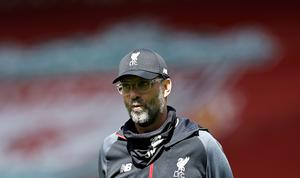 "Jurgen Klopp feels Monday was not ""a good day for football"" (Phil Noble/NMC Pool/PA)"