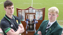 Bring it on: Sullivan captain Jamie Thallon will be at home to Rex Tinsley's Campbell College in the fourth round