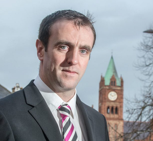"""Stormont Environment minister Mark H Durkan is urging the public to """"make saving lives your New Year resolution"""""""