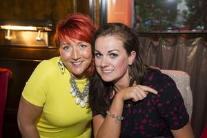 Berts Bar Jazz Festival pictured Adele Glenn and Victoria McAdoo