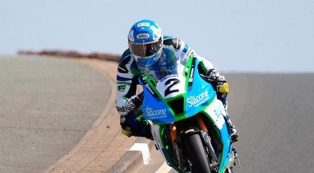 Revved up: Dean Harrison tops the Superbike standings