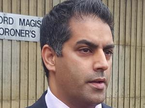 Sajad Chaudhury told a district judge Gemma Procter denies the charge of murdering Elliot Procter (Dave Higgens/PA)