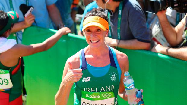 First home: Briege Connolly landed the Edinburgh title