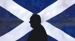 Scotland's charismatic leader Alex Salmond signalled the end of his leadership of his country after his campaign for independence was rejected