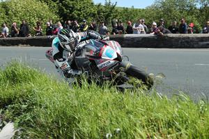 06/06/2019: Michael Dunlop (600 Honda/MD Racing) at The Gooseneck during the Monster Energy Supersport TT race two. PICTURE BY DAVE KNEEN/PACEMAKER PRESS.