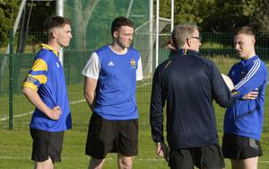 9th  July 2020 -  John Morgan,Conor King and Peter King back in training with St Brigids