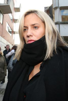 Caroline Flack leaves Highbury Corner Magistrates' Court in December 2019 where she pleaded not guilty to assaulting boyfriend Lewis Burton (Jonathan Brady/PA)