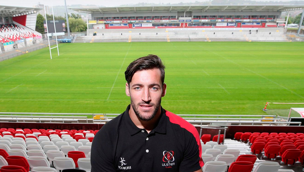 World experience: Sam Windsor during his stint at Ulster