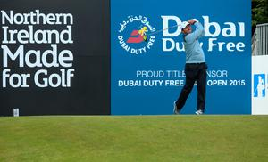 NEWCASTLE, NORTHERN IRELAND - MAY 29:  Francesco Molinari of Italy tees off during the Second Round of the Dubai Duty Free Irish Open Hosted by the Rory Foundation at Royal County Down Golf Club on May 29, 2015 in Newcastle, Northern Ireland.  (Photo by Andrew Redington/Getty Images)
