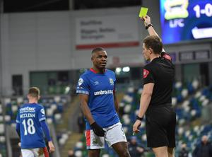Linfield hero Lee Doherty reckons Christy Manzinga was fortunate not to be sent off before he had a big hand in his side's clinching goal.