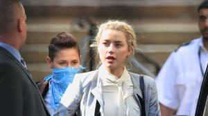Amber Heard has been giving her second day of evidence in Johnny Depp's libel action against The Sun newspaper (Aaron Chown/PA)