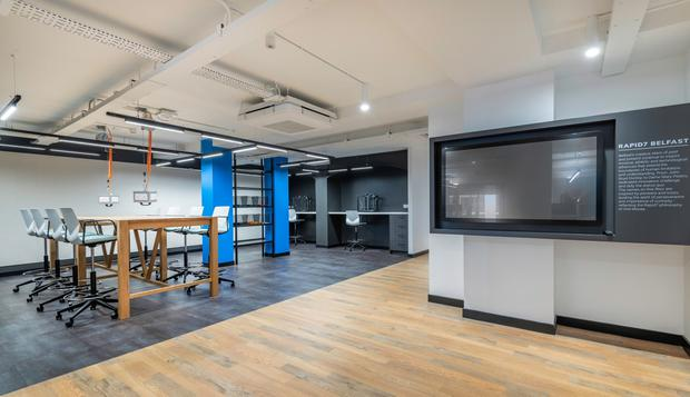 Plush new offices at Chichester House for cyber-security company Rapid7