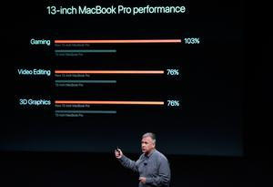 Senior Vice President of Worldwide Marketing Phil Schiller speaks during a product launch event at Apple headquarters in Cupertino, California on October 27, 2016.  / AFP PHOTO / Josh EdelsonJOSH EDELSON/AFP/Getty Images