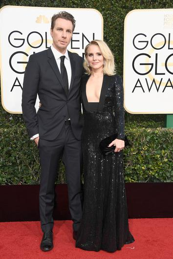 Actors Dax Shepard and Kristen Bell attend the 74th Annual Golden Globe Awards at The Beverly Hilton Hotel on January 8, 2017 in Beverly Hills, California.  (Photo by Frazer Harrison/Getty Images)