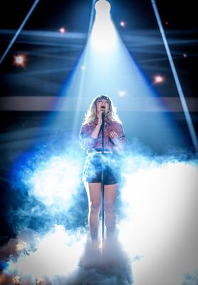 The Voice UK Final  Programme Name: The Voice - Picture Shows: Live Show Dress Run ***Leah McFall