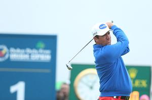 Press Eye - Belfast - Northern Ireland - 9th July 2017   Day four of the Dubai Duty Free Irish Open Hosted by the Rory Foundation at Portstewart Golf Club, Co.Derry / Co. Londonderry, Northern Ireland.  Scott Hend  Picture by Matt Mackey / presseye.com