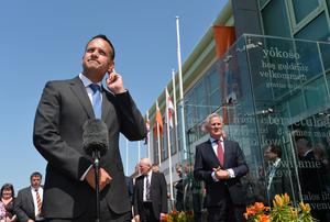 Pacemaker Press 8/6/2018 Taoiseach Leo Varadkar   visits the Museum of Orange Heritage in Belfast. It will be the first time an Irish prime minister has been to the headquarters of the Orange Order in Belfast.  Pic Colm Lenaghan /Pacemaker