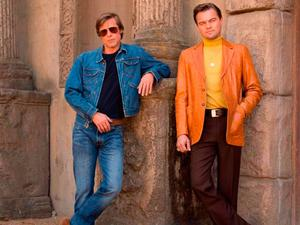 Brad Pitt and Leonardo DiCaprio in Quentin Tarantino's Once Upon A Time in Hollywood