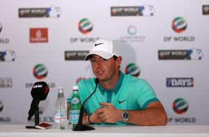 Calm and collected: Rory McIlroy insists his high-profile court case won't disrupt his bid for a Grand Slam of Majors