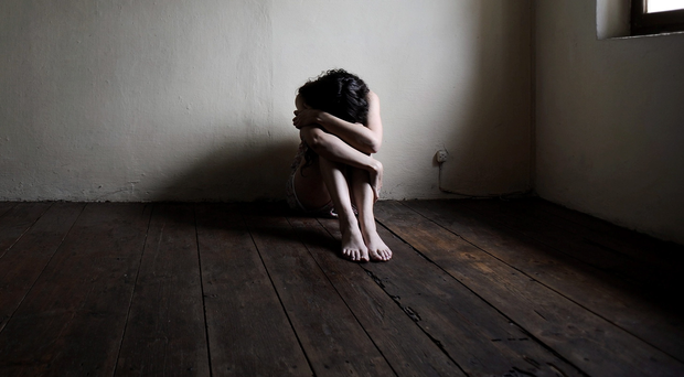 The scale of the suicide crisis in Northern Ireland is well known. In 2018, 307 people took their own lives and the suicide rate here is the highest in the UK. Stock image posed by model