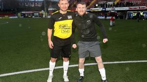 Cystic Fibrosis All Stars Carl Frampton and Paddy Barnes