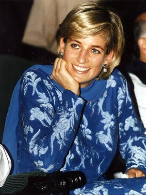 File photo dated 23/05/2007 of Diana, Princess of Wales during a visit to Lahore, Pakistan. The inquest into her death has now concluded with the jury returning joint verdicts of unlawful killing through grossly negligent driving - or gross negligence manslaughter.Tuesday April 08, 2008.