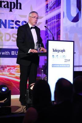 Press Eye - Belfast - Northern Ireland - 2nd May 2019 -   Richard Donnan pictured at the Belfast Telegraph Business Awards in association with Ulster Bank at the Crowne Plaza Hotel, Belfast. Photo by Kelvin Boyes / Press Eye.