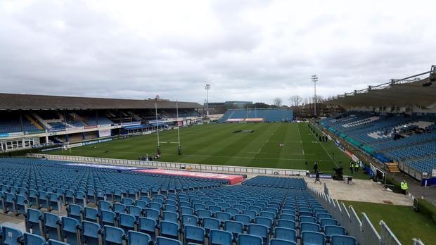 Leinster's showdown with Toulon at the RDS Arena has been cancelled (Donall Framer, PA)