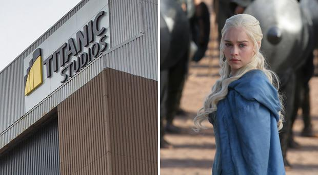 Game of Thrones is filmed at the Paint Hall Titanic Studios in Belfast