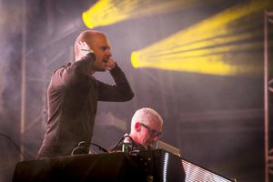 Jono Grant and Tony McGuinness of electronic music act, Above & beyond. Liam McBurney/RAZORPIX