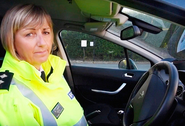 Inspector Rosie Leech of the PSNI's road policing team has urged road users to pay more attention