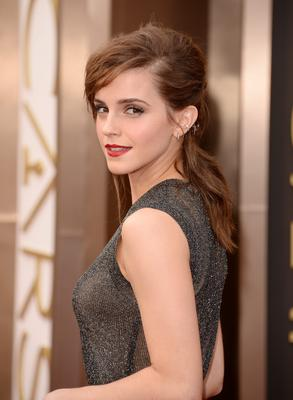 HOLLYWOOD, CA - MARCH 02:  Actress Emma Watson attends the Oscars held at Hollywood & Highland Center on March 2, 2014 in Hollywood, California.  (Photo by Jason Merritt/Getty Images)