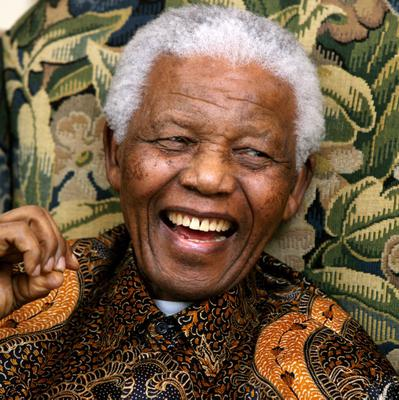 South African President Nelson Mandela, pictured in 2008 by Johnny Green/PA Wire