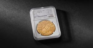 The coin dates back 500 years (Royal Mint/PA)