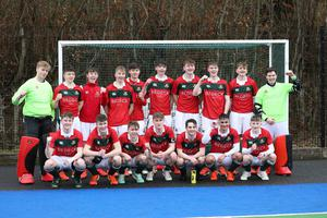 Friends School hockey team after defeating Wallace High  during the Burney Cup  Semi-Final.  Photo by Peter Morrison