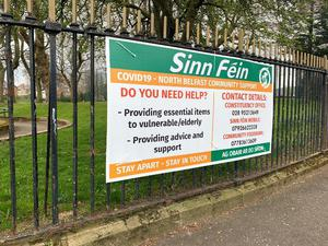 The posters have been placed at city council parks.