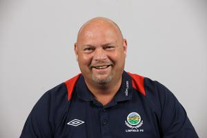 Linfield Football Club Manager David Jeffrey 2011. Presseye