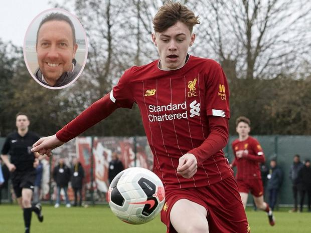 Conor Bradley was just nine when he joined Liverpool's Northern Ireland development centre, led by Cliff Ferguson, aged just nine.