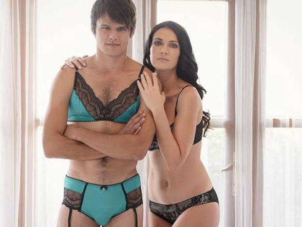 Homme Mystere latest lingerie campaign